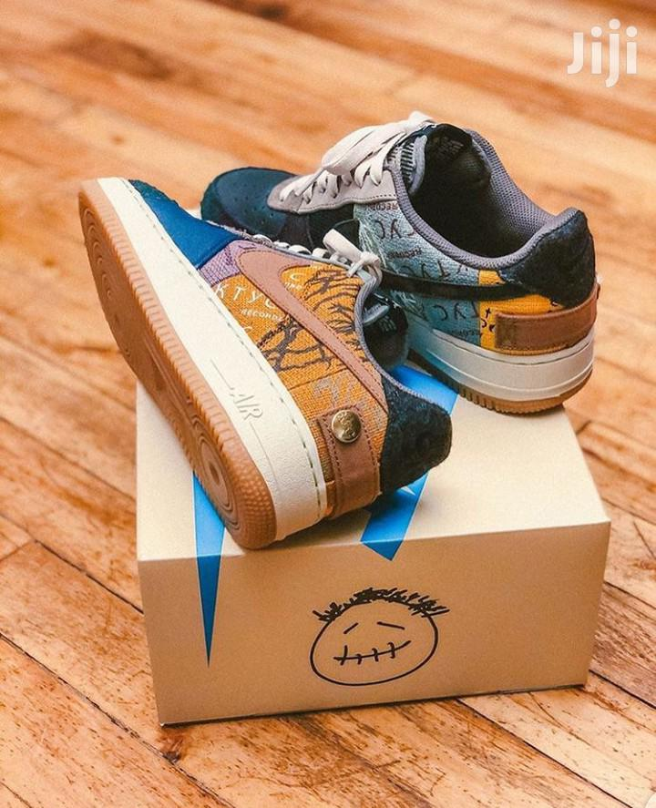 Original Nike Air Force 1 Cactus Jack In Stock | Shoes for sale in Accra Metropolitan, Greater Accra, Ghana
