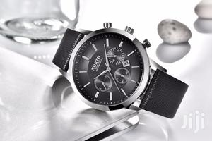 Black Analogue Quartz Men's Watch -pu Leather   Watches for sale in Greater Accra, Achimota