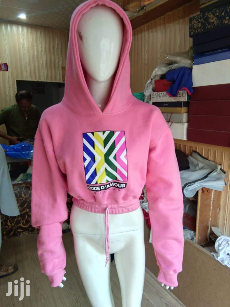 ML Hoodie Crop Top   Clothing for sale in Achimota, Greater Accra, Ghana