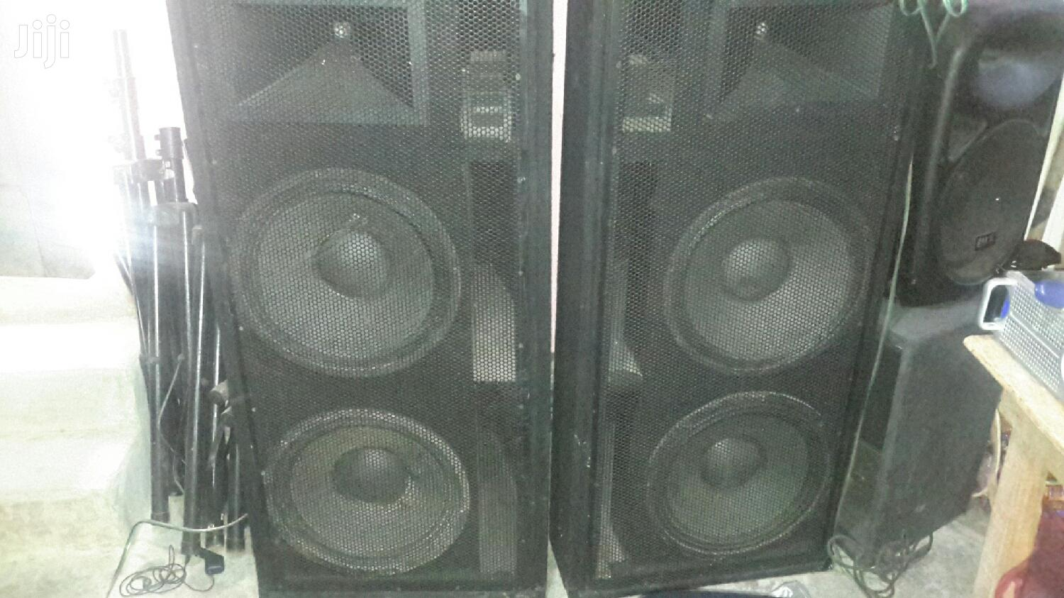 REDUCED TO CLEAR Full-Range and 18 Inches Dual Bass Speakers