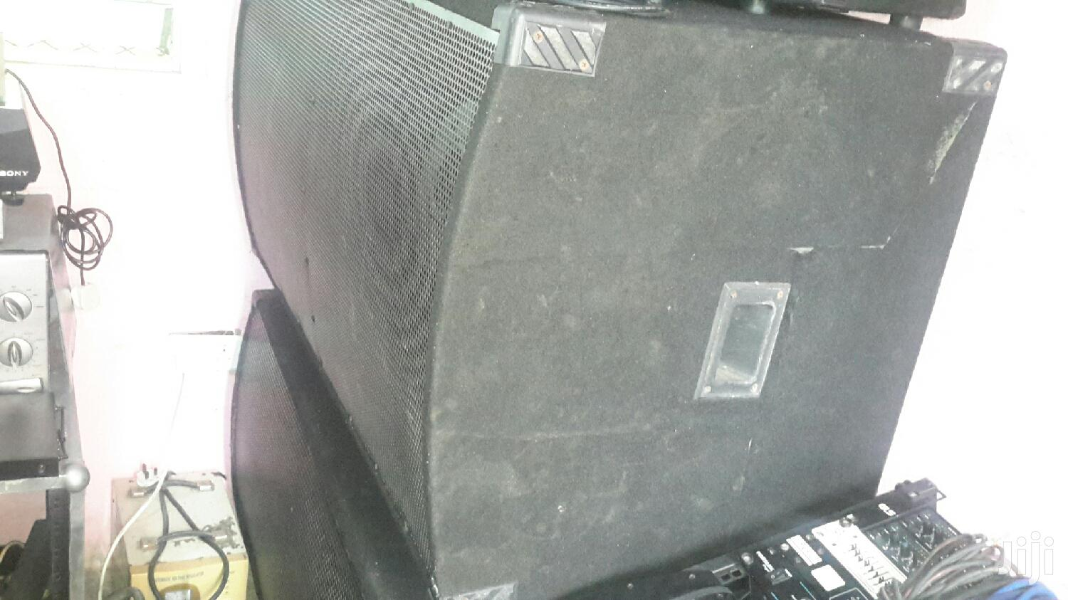 REDUCED TO CLEAR Full-Range and 18 Inches Dual Bass Speakers | Audio & Music Equipment for sale in New Mamprobi, Greater Accra, Ghana