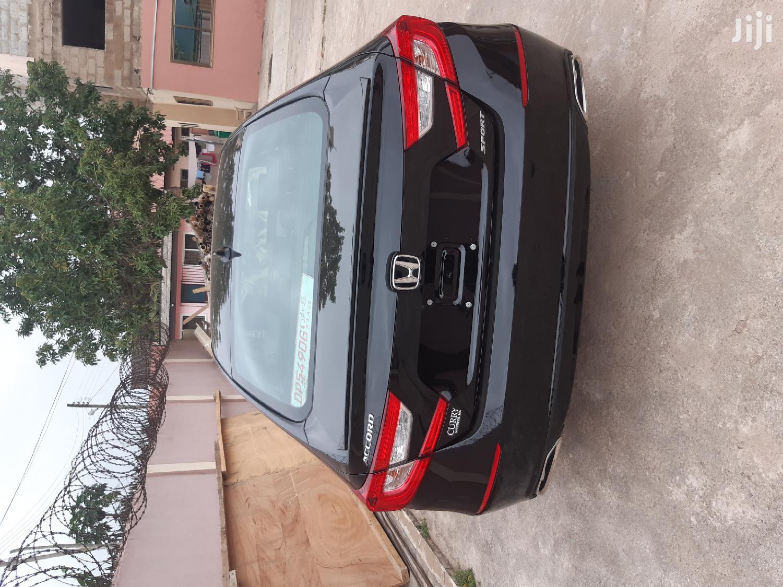 Honda Accord 2018 Sport Black