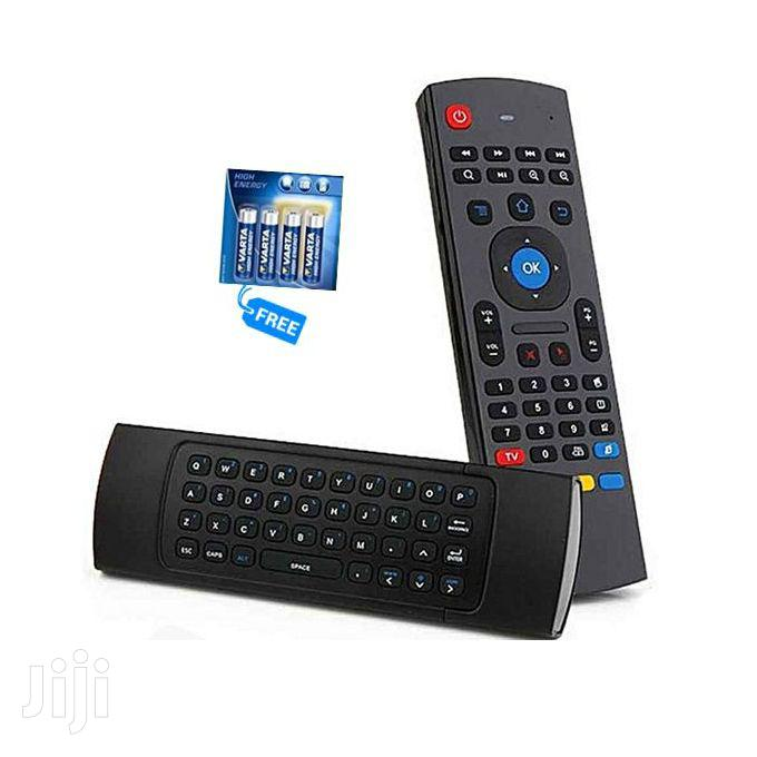 Air Mouse-keyboard/Remote Contro + Free AAA Battery – Black