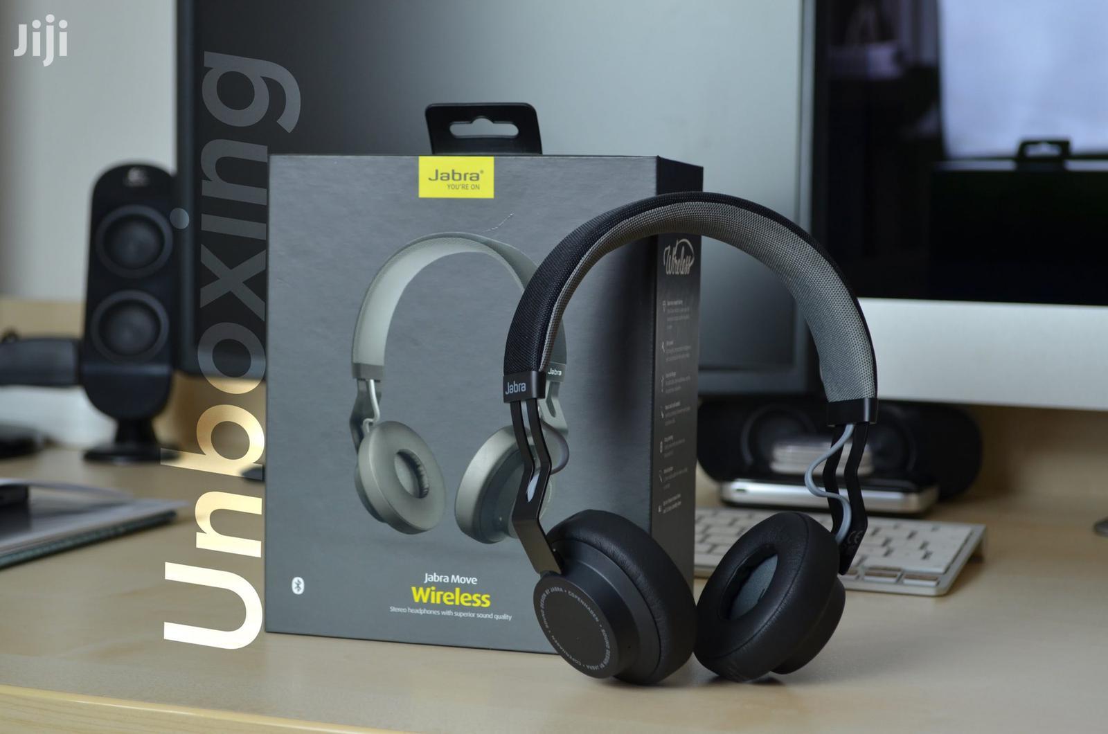 Move Wireless Headphones- Black