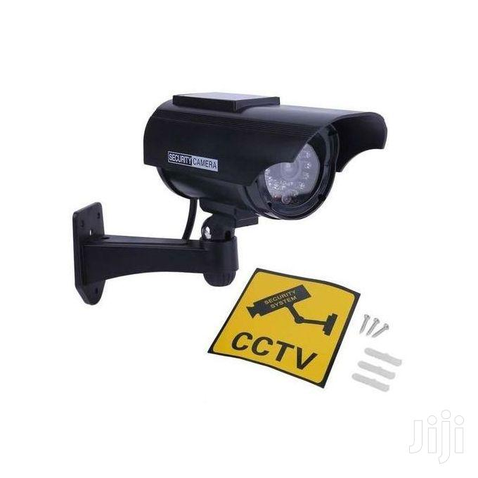 Dummy Outdoor Waterproof Security CCTV Camera With LED Flash | Security & Surveillance for sale in East Legon, Greater Accra, Ghana