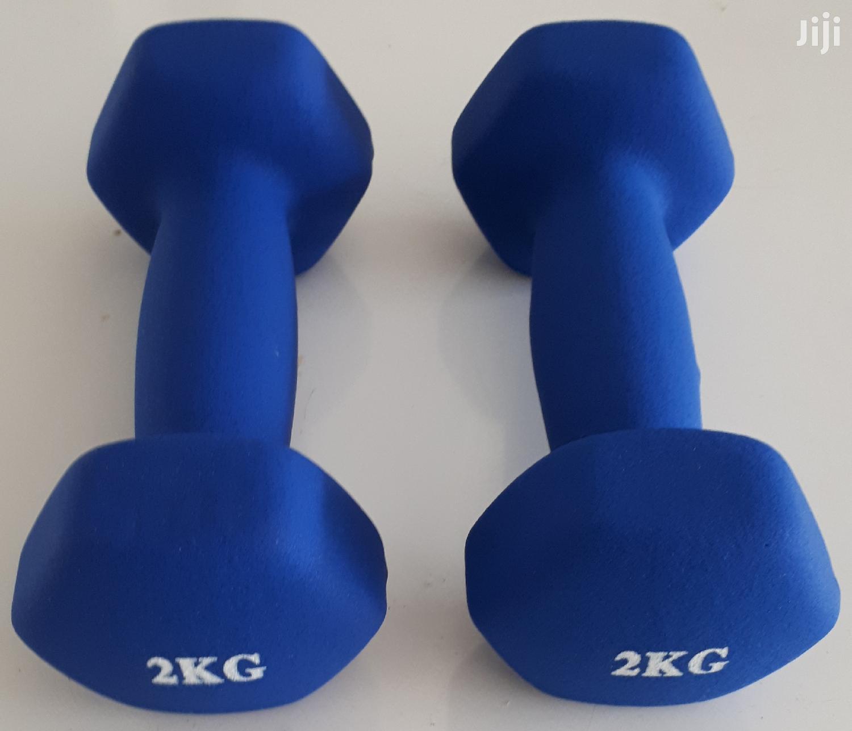 2kg Dumbbell/Dumbells (Pair=4kg)