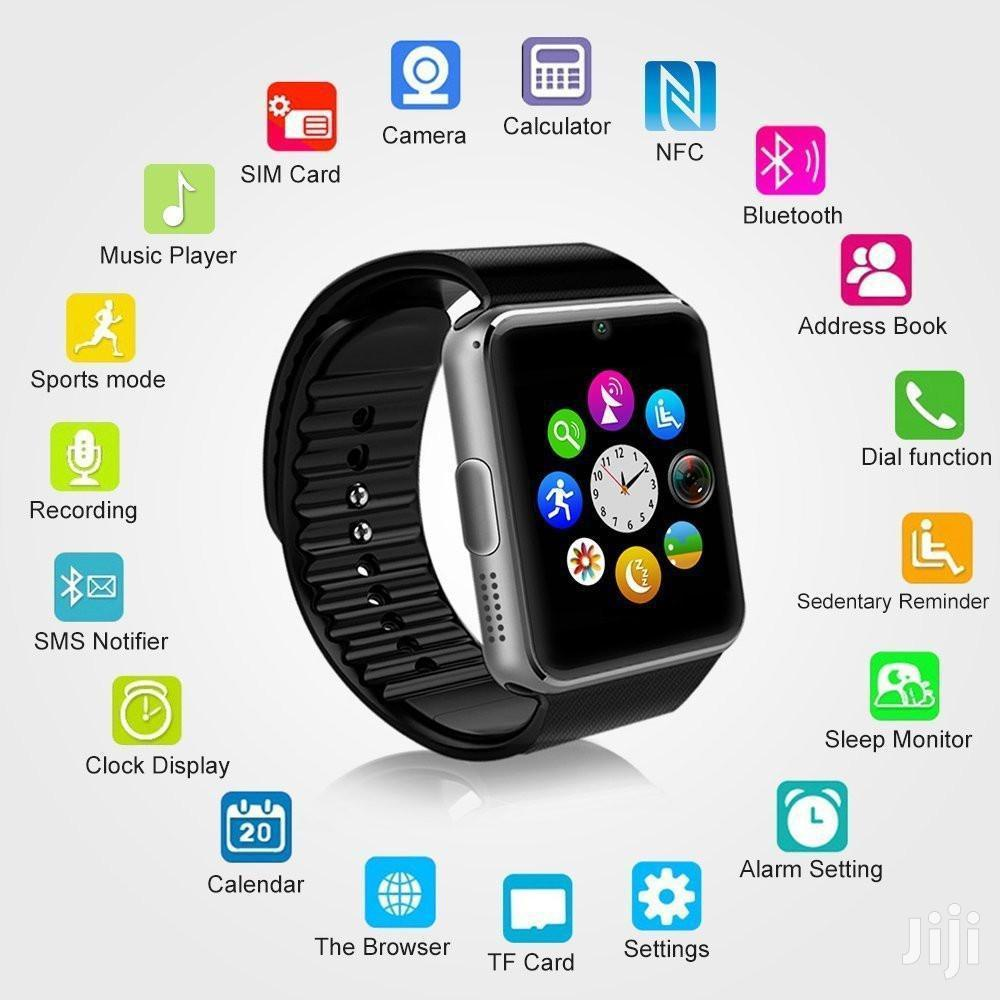 GT08 Single SIM Smart Watch | Smart Watches & Trackers for sale in East Legon, Greater Accra, Ghana