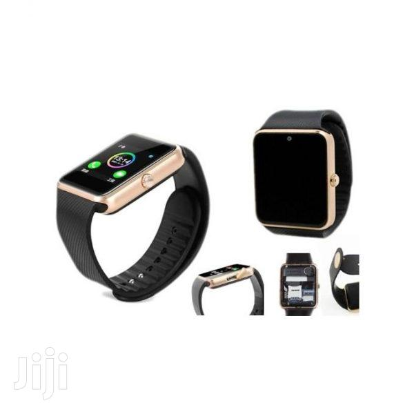 GT08 Smart Watch – Black/Gold
