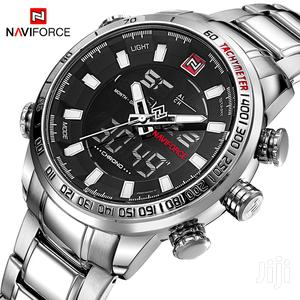 Stainless Naviforce Luxury Dual Movt Men Watch | Watches for sale in Greater Accra, Achimota