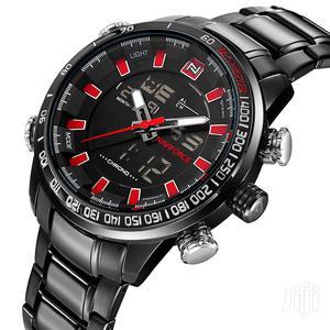 Naviforce Topmen Sports Watches Mens Full Steel Quartz Digit | Watches for sale in Greater Accra, Achimota