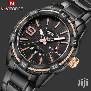 Black&Rosegold NAVIFORCE Stainless Mens Watch | Watches for sale in Greater Accra, Achimota