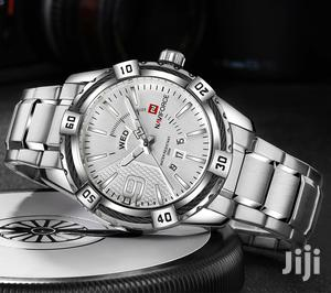 Stainless All Silver Naviforce Mens Wrist Watch | Watches for sale in Greater Accra, Achimota
