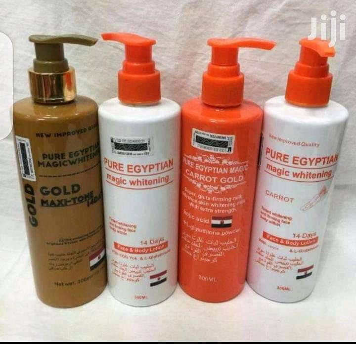 Pure Egyptian Magic Whitening Lotion | Skin Care for sale in Teshie-Nungua Estates, Greater Accra, Ghana
