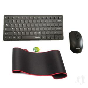 Keyboard Mouse Combo – Black + FREE BT Headphone – Black   Computer Accessories  for sale in Greater Accra, East Legon
