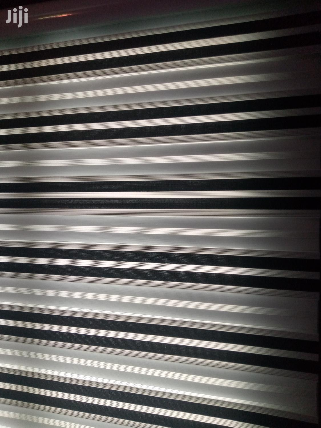 Black and White Zebra Curtains Blinds