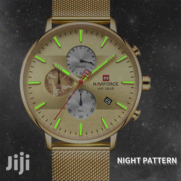 Original Naviforce Night Pattern Bracelet Strap Men Watch | Watches for sale in Achimota, Greater Accra, Ghana