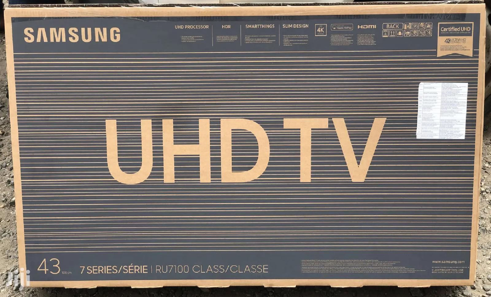 "Samsung 43""Inch Ultra HD Smart Wifi Sat HDR"