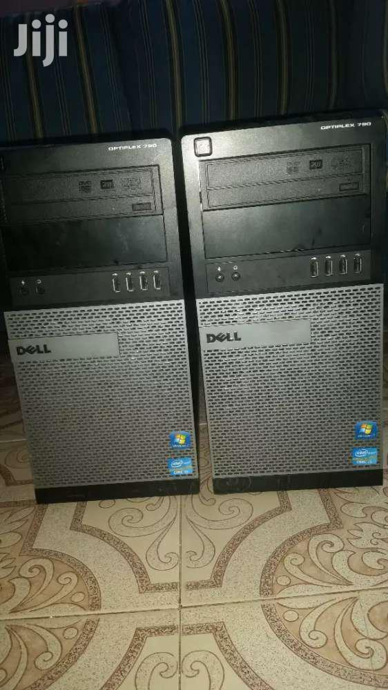 Desktop Computer Dell 4GB Intel Core i5 HDD 500GB | Laptops & Computers for sale in Tema Metropolitan, Greater Accra, Ghana
