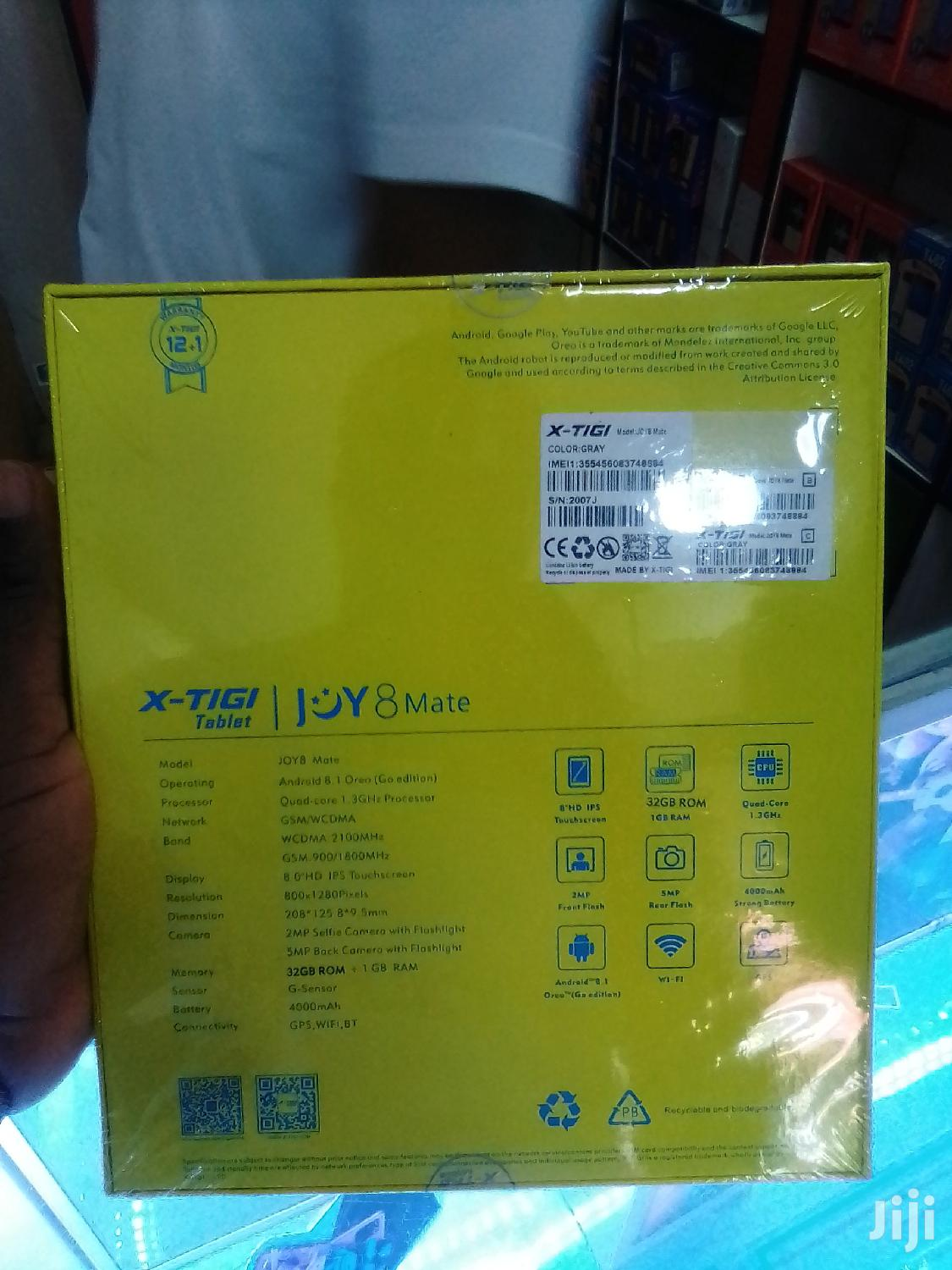 New X-tigi Joy Mate 8 32 GB Yellow | Tablets for sale in Adabraka, Greater Accra, Ghana