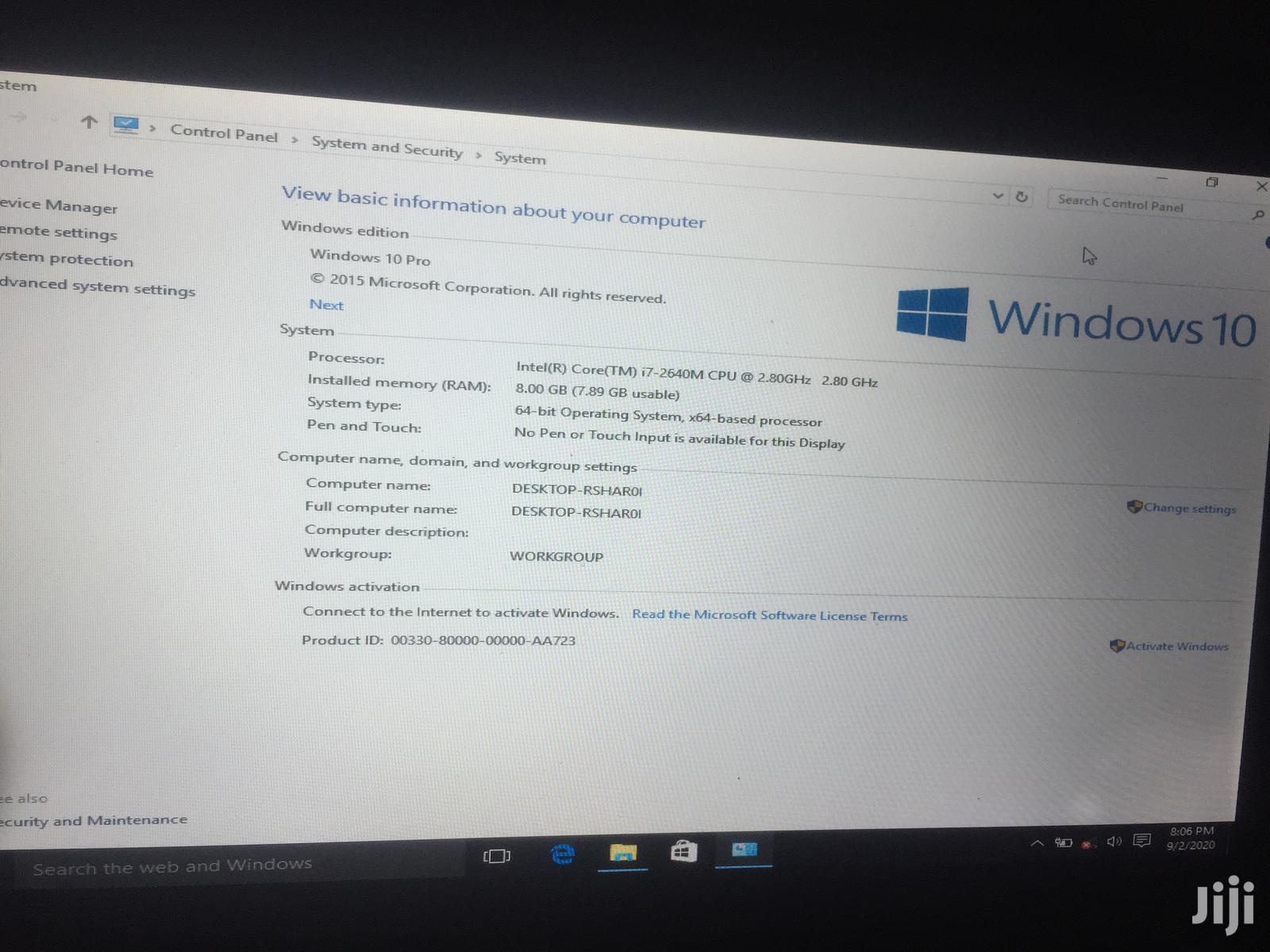 Archive: Laptop Lenovo ThinkPad Edge E450 8GB Intel Core i7 HDD 500GB