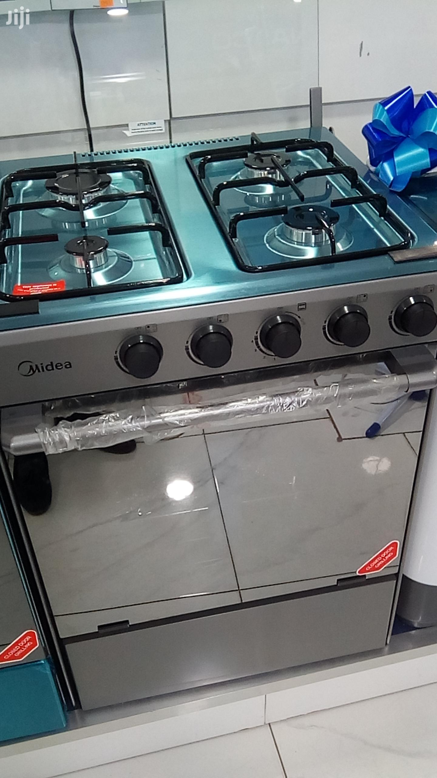 Midea 4 Burner With Oven/Grill | Kitchen Appliances for sale in Kokomlemle, Greater Accra, Ghana