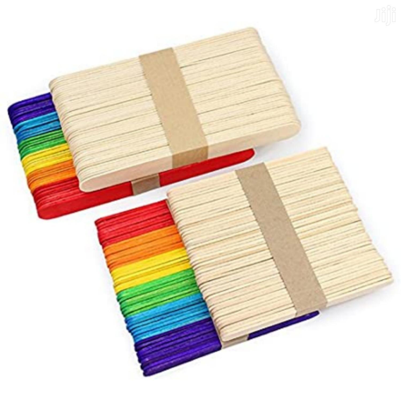 Bamboo Craft Popsicle Sticks