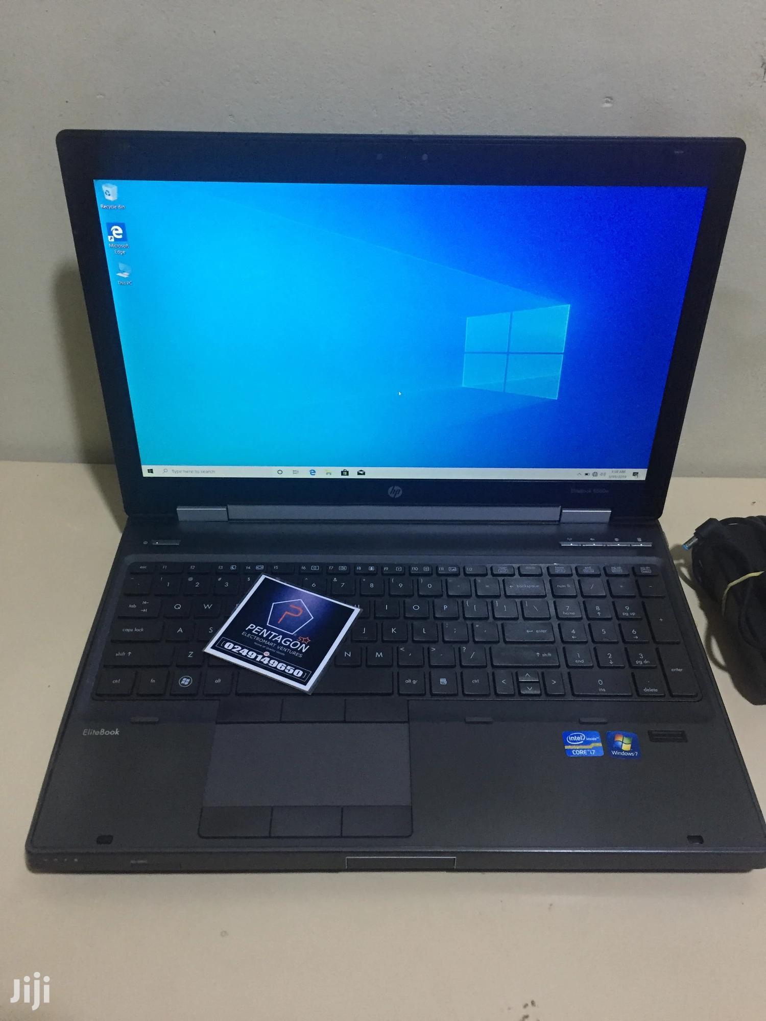 Laptop HP EliteBook 8560W 8GB Intel Core I7 HDD 500GB | Laptops & Computers for sale in Kumasi Metropolitan, Ashanti, Ghana