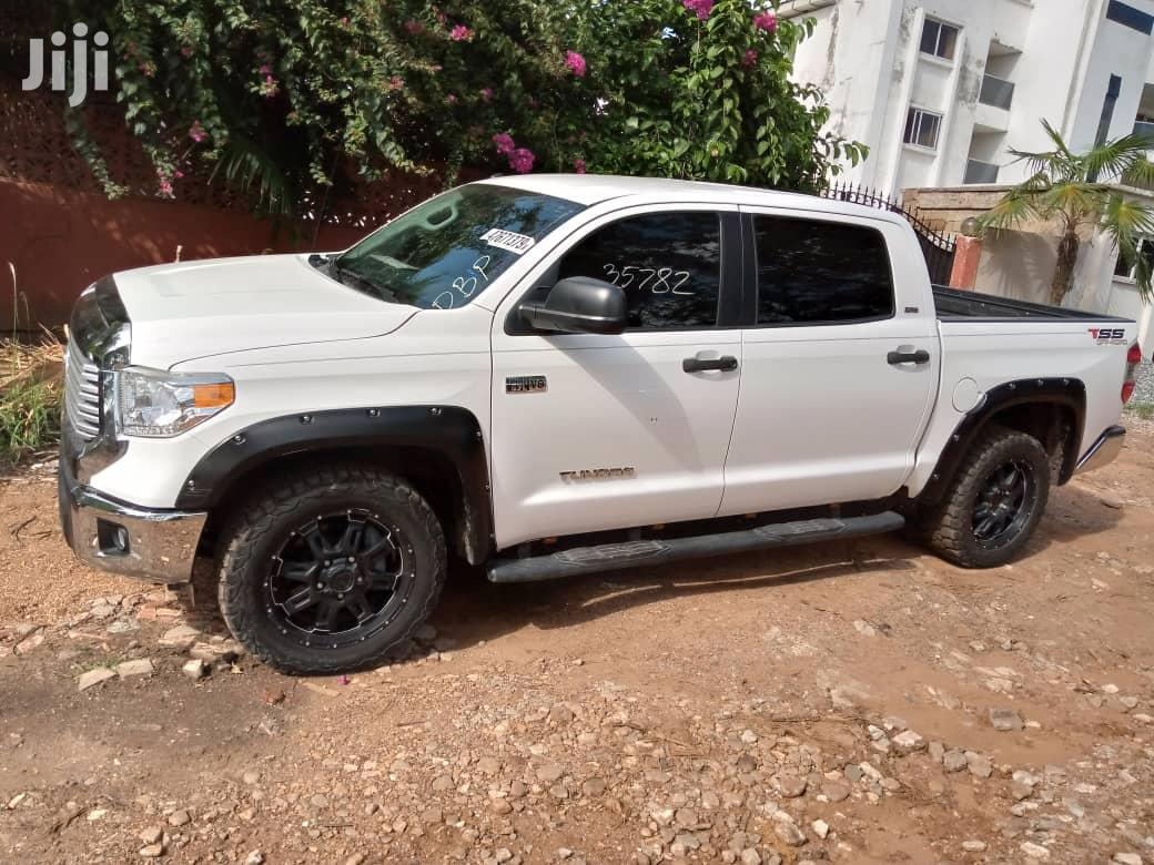 Toyota Tundra 2015 White | Cars for sale in Adabraka, Greater Accra, Ghana