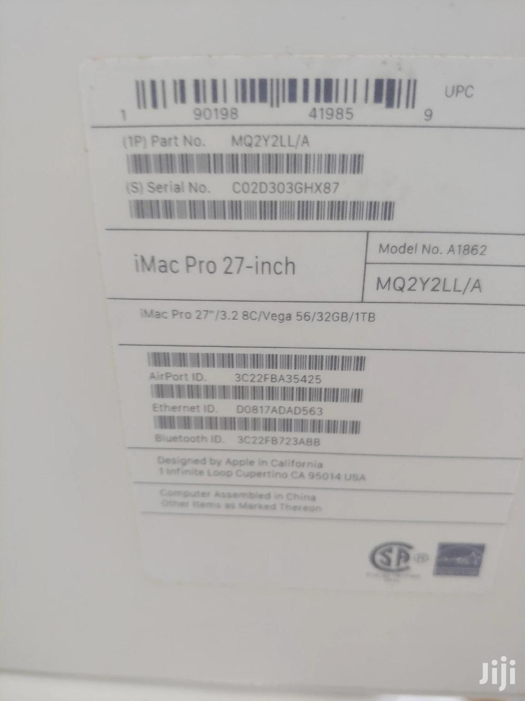 Archive: New Desktop Computer Apple iMac Pro 32GB Intel Core i7 SSD 1T