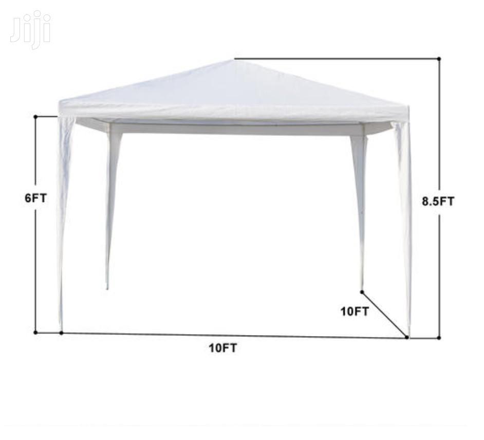 10'x 10' Three Sides Gazebo Canopy Waterproof Tent | Camping Gear for sale in Tema Metropolitan, Greater Accra, Ghana