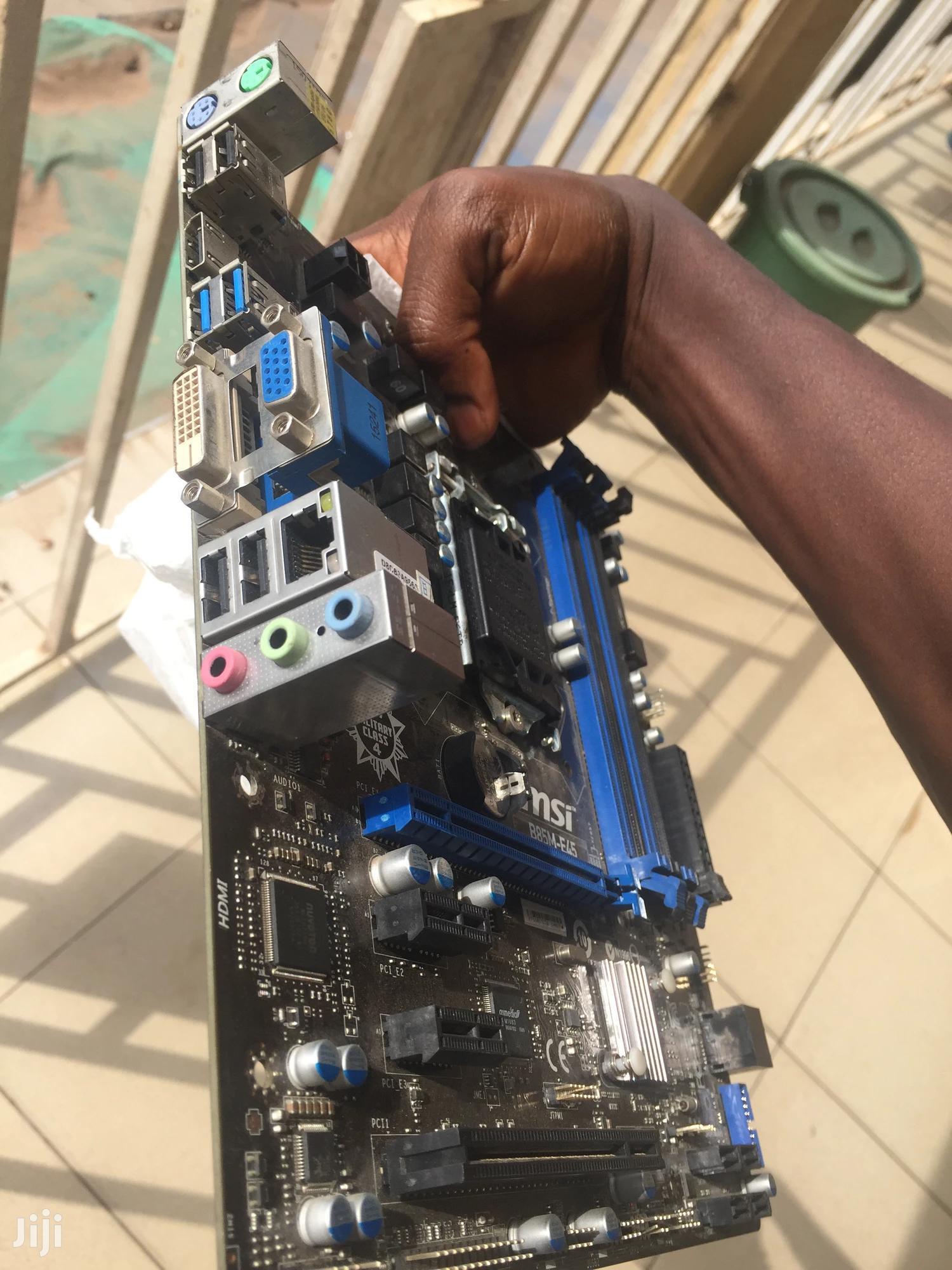 Msi 4th Gen Mobo | Computer Hardware for sale in Kumasi Metropolitan, Ashanti, Ghana