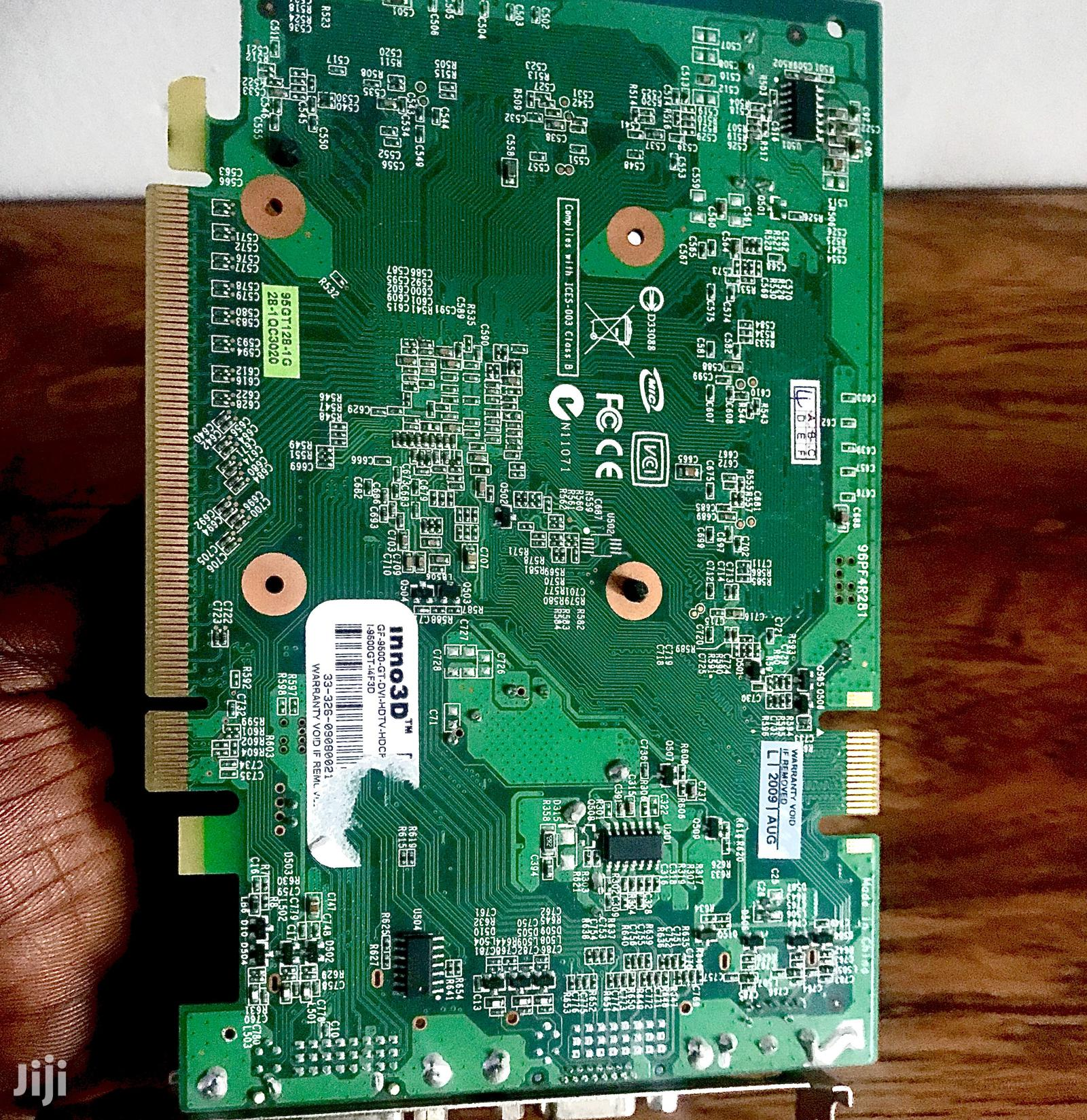 1GB NVIDIA Geforce 9500GT Graphics Card | Computer Hardware for sale in Dansoman, Greater Accra, Ghana