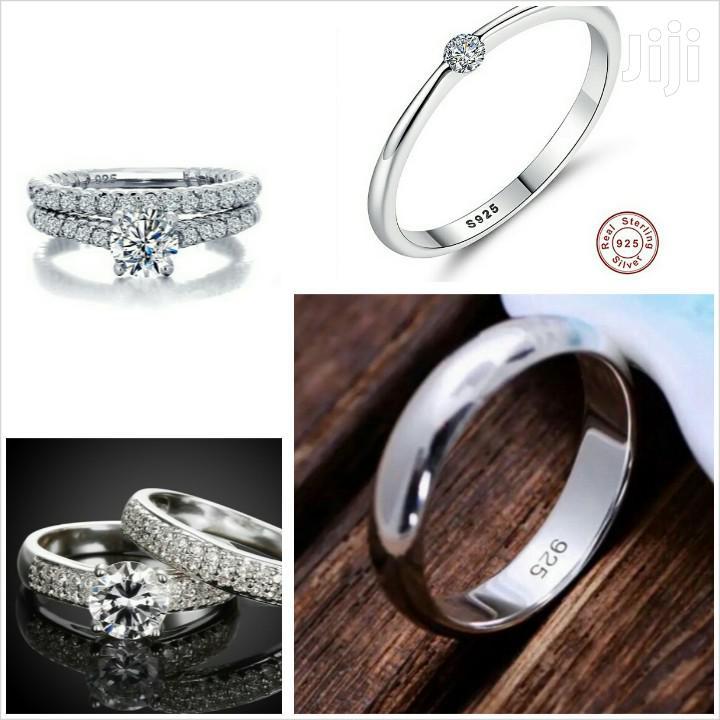 Quality 925 Silver Sterling Ring, Three Set for Couples   Jewelry for sale in Cape Coast Metropolitan, Central Region, Ghana