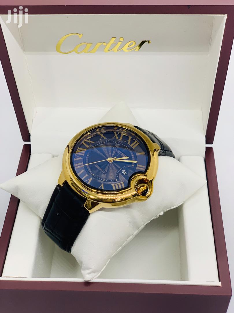 Cartier Quartz Men Watch