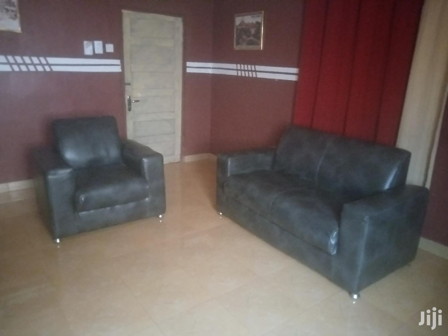Archive: Quality Leather Sofa