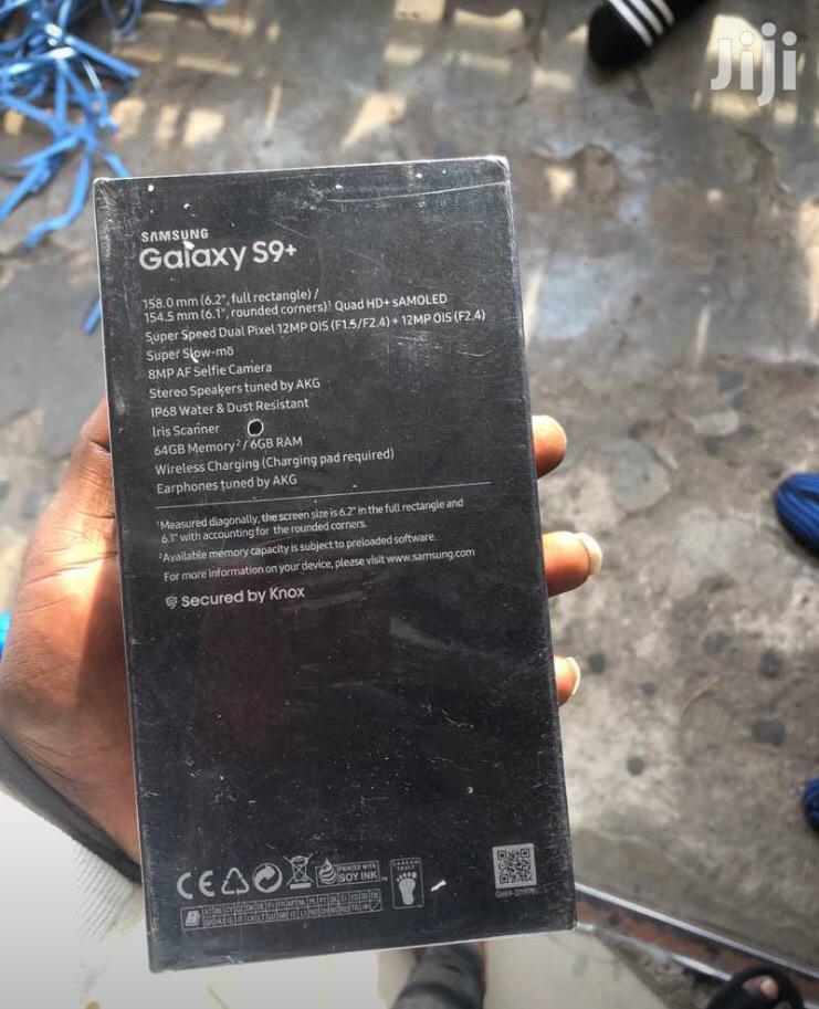 New Samsung Galaxy S9 Plus 64 GB Black | Mobile Phones for sale in Kumasi Metropolitan, Ashanti, Ghana