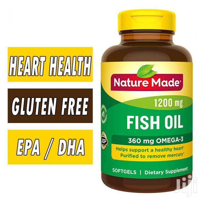 Nature Made Omega 3 Fish Oil