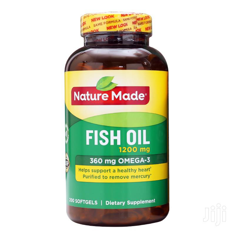 Nature Made Omega 3 Fish Oil | Vitamins & Supplements for sale in Ga East Municipal, Greater Accra, Ghana