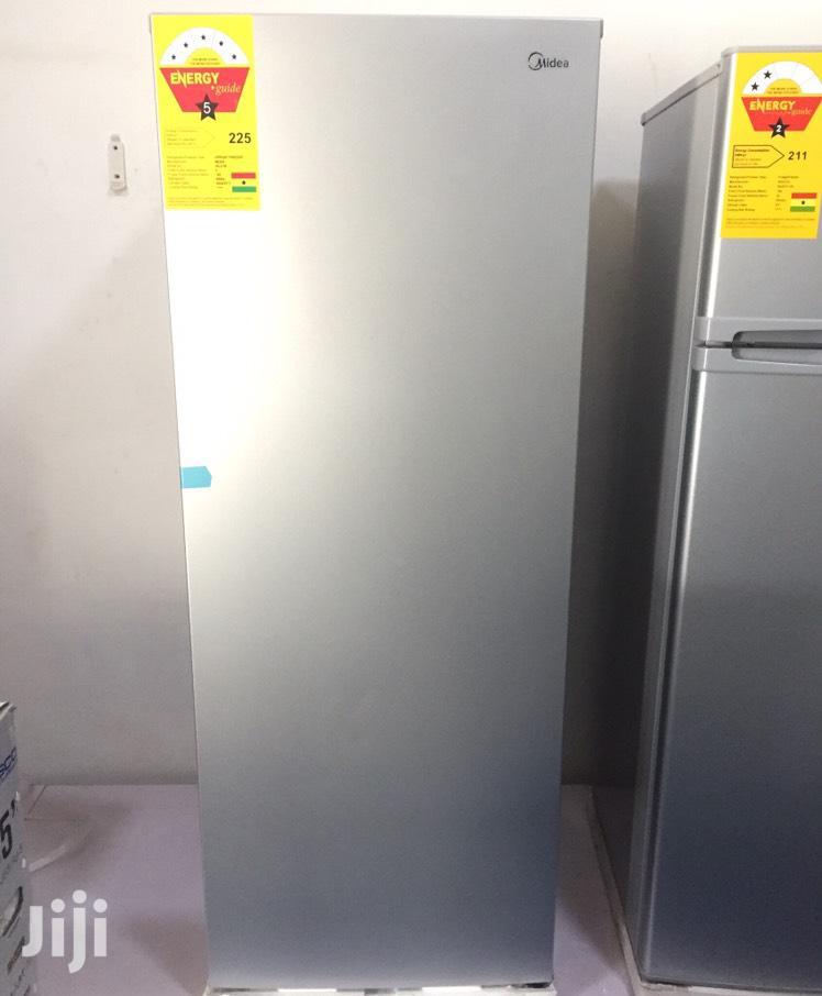 5 STAR Midea Standing Freezer 165 Liters | Kitchen Appliances for sale in Roman Ridge, Greater Accra, Ghana