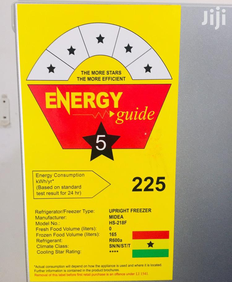 165 Liters Midea Standing Freezer | Kitchen Appliances for sale in Roman Ridge, Greater Accra, Ghana