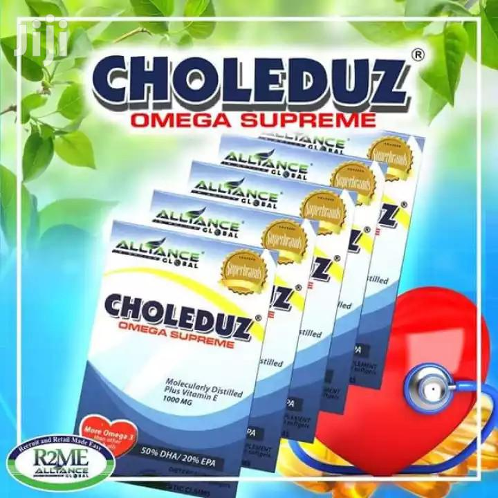 Choleduz Omega Supreme 10 Capsules/Box | Vitamins & Supplements for sale in Adenta Municipal, Greater Accra, Ghana