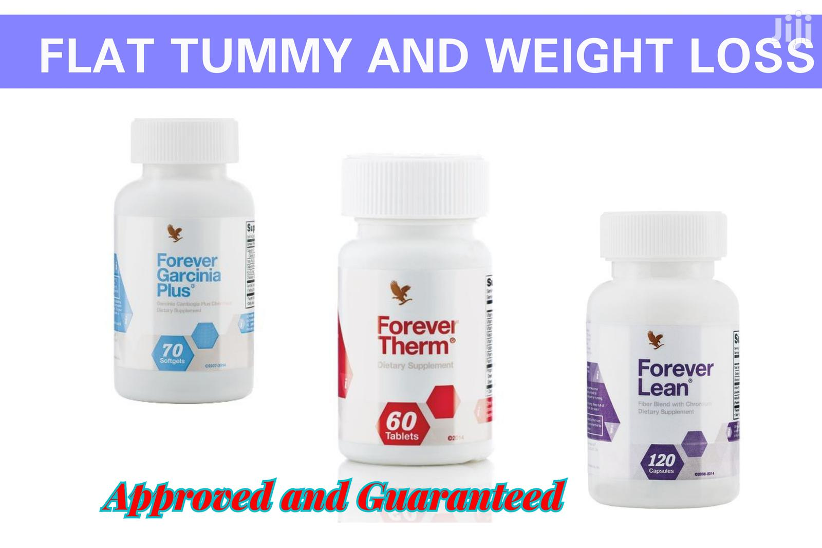 Naturally Supplements for Flat Tummy and Weight Loss