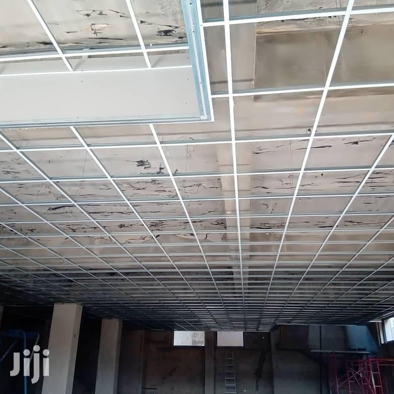 Acoustic and Plasterboard Ceiling Design Installation