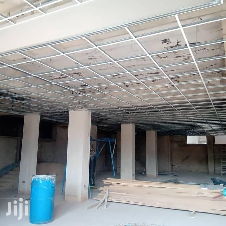 Acoustic and Plasterboard Ceiling Design Installation | Building & Trades Services for sale in Accra Metropolitan, Greater Accra, Ghana