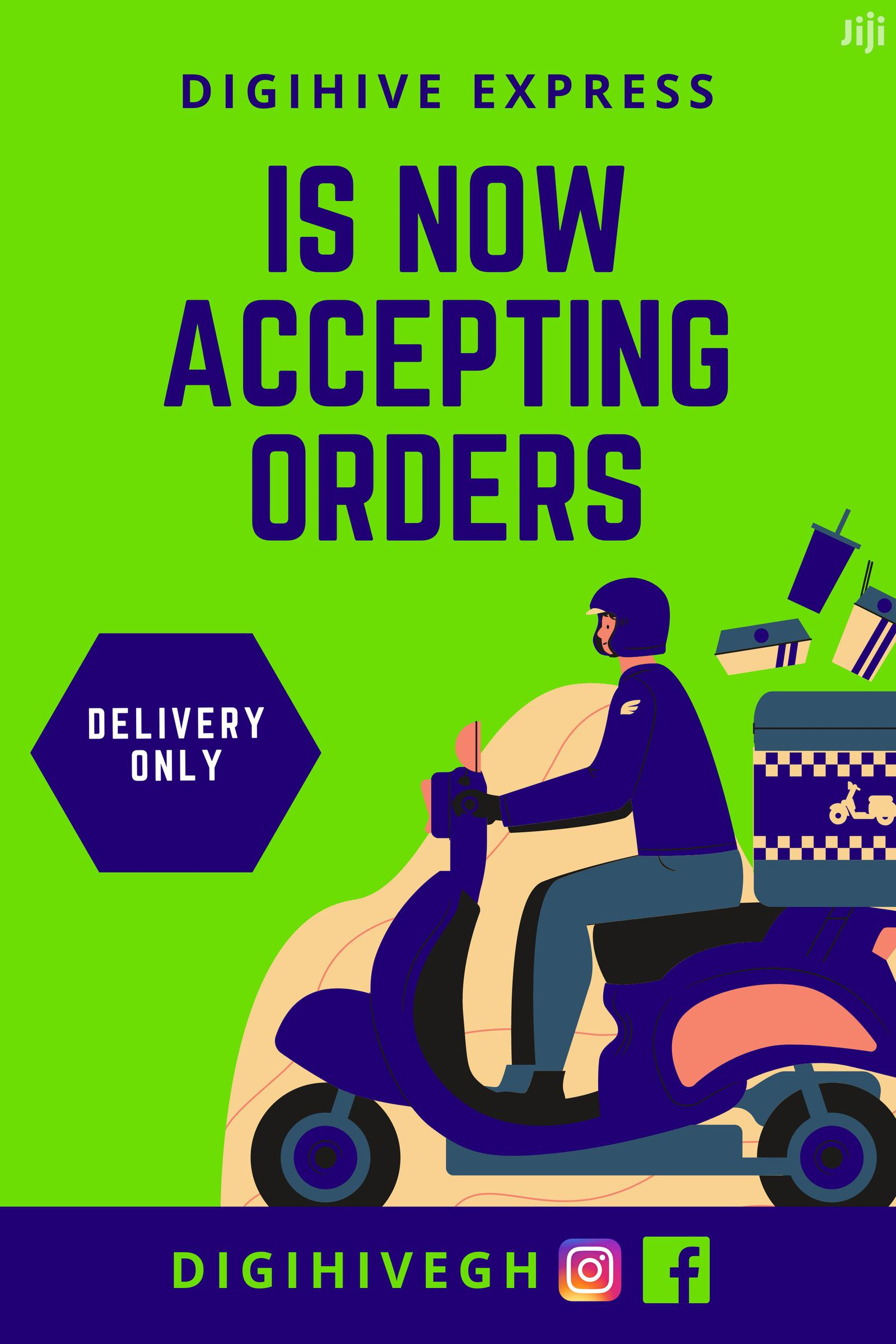 Delivery Services | Logistics Services for sale in Accra Metropolitan, Greater Accra, Ghana
