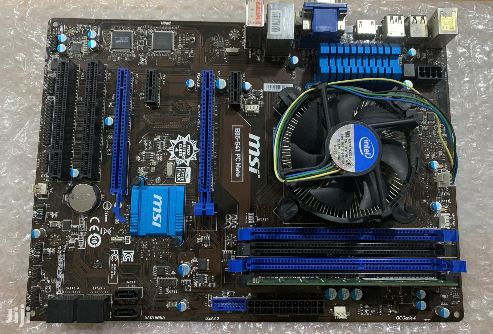 4th Gen Mobo And I5 CPU