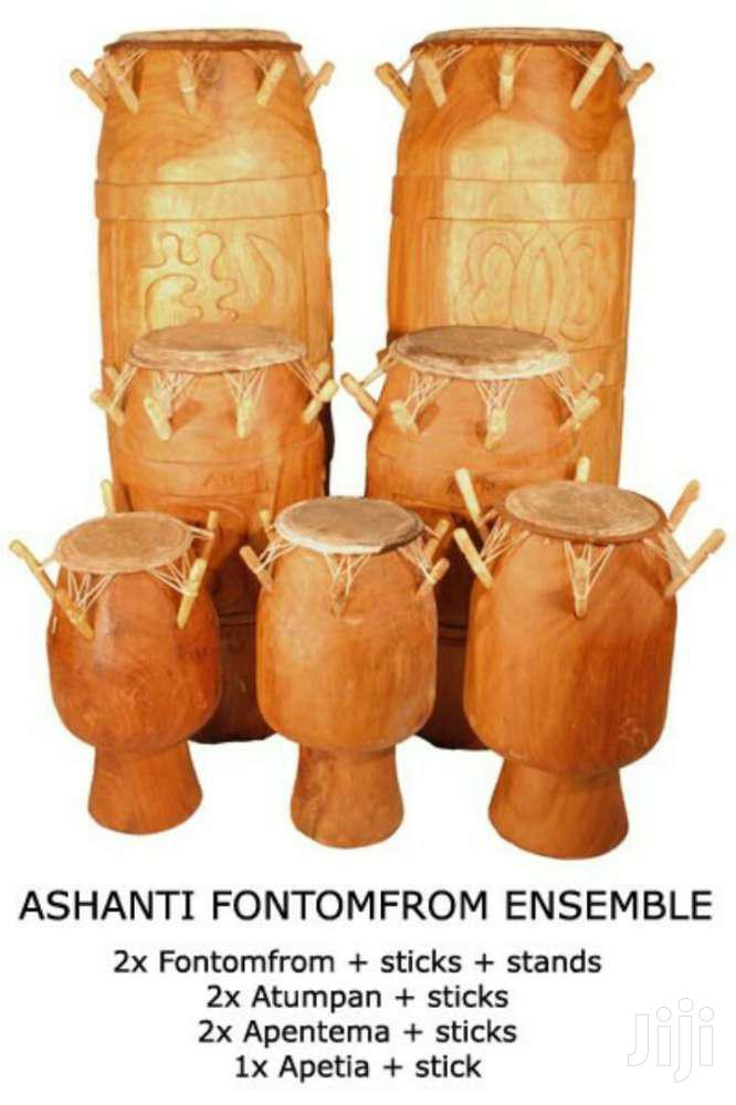 Set Of Quality Fontomfrom Drum   Musical Instruments & Gear for sale in Accra Metropolitan, Greater Accra, Ghana