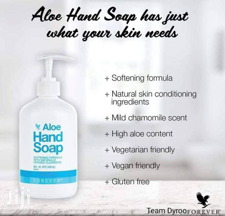 Archive: Aloe Hand Soap in Accra, Ghana
