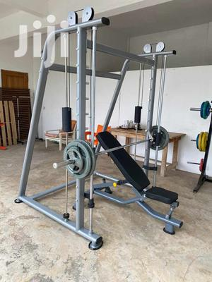 Commercial Smith Machine With 100kg Weight | Sports Equipment for sale in Greater Accra, Ga East Municipal