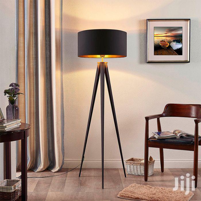 Tripod Floor Lamp, Mid Century Standing Lamp, Modern Design